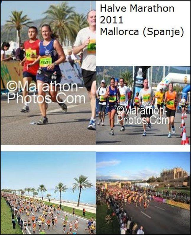 Hetty van Burg, De halve marathon van Mallorca